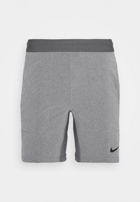 Nike Performance - SHORT YOGA - Pantalón corto de deporte - iron grey/grey fog/black - 3