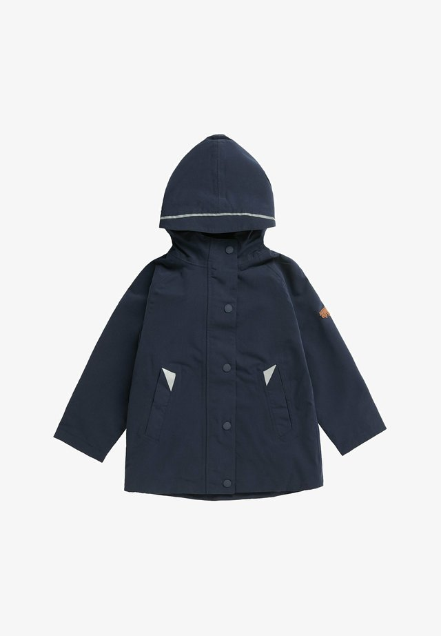 COASTAL WOODLAND - Waterproof jacket - dark blue