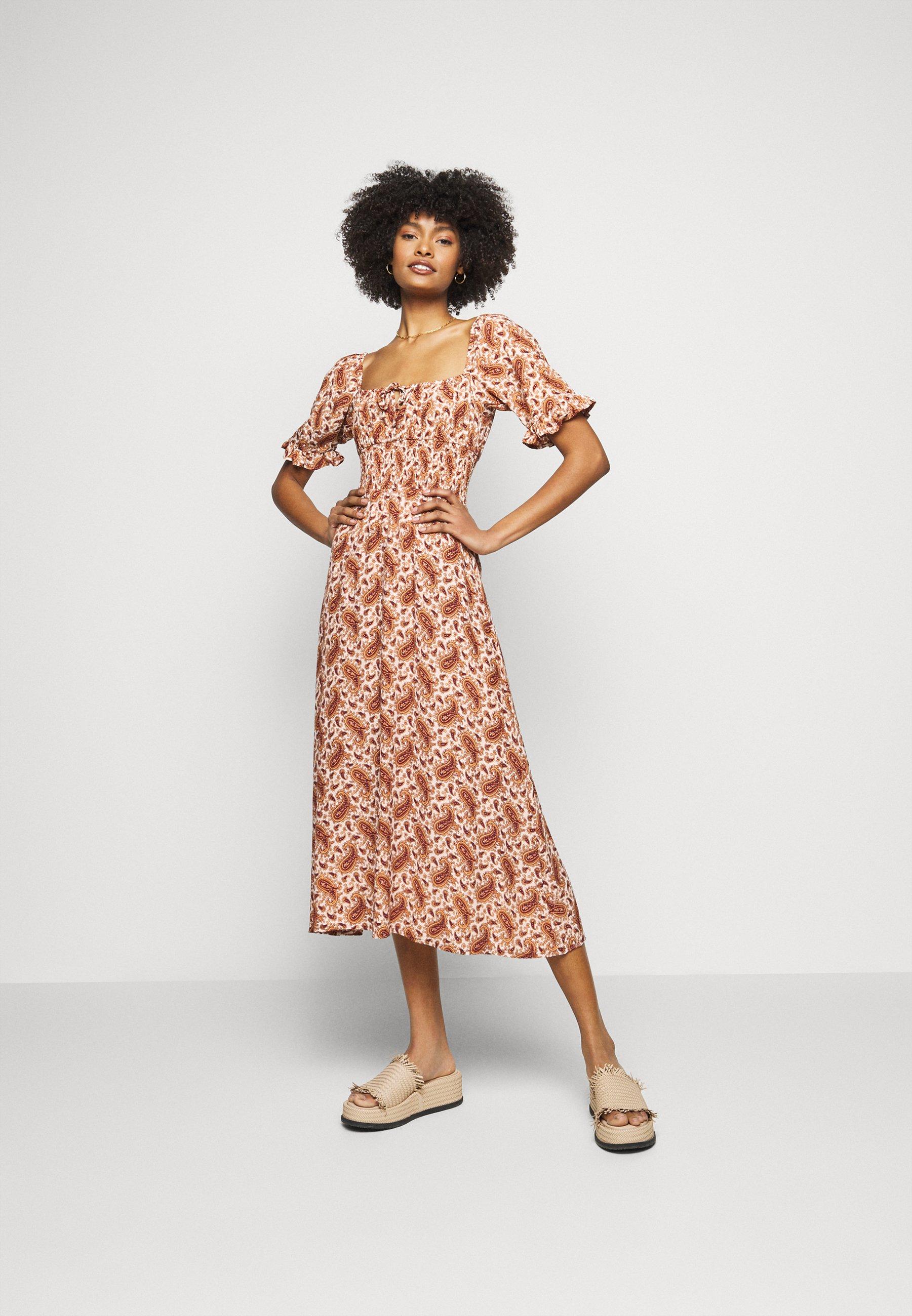 Women EL PASO MIDI DRESS - Day dress