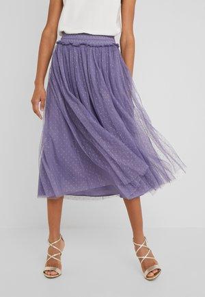 HONEYCOMBE SMOCKED BALLERINA SKIRT - A-line skirt - bluebell
