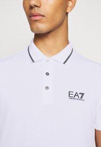 EA7 Emporio Armani - Polo shirt - white - 4