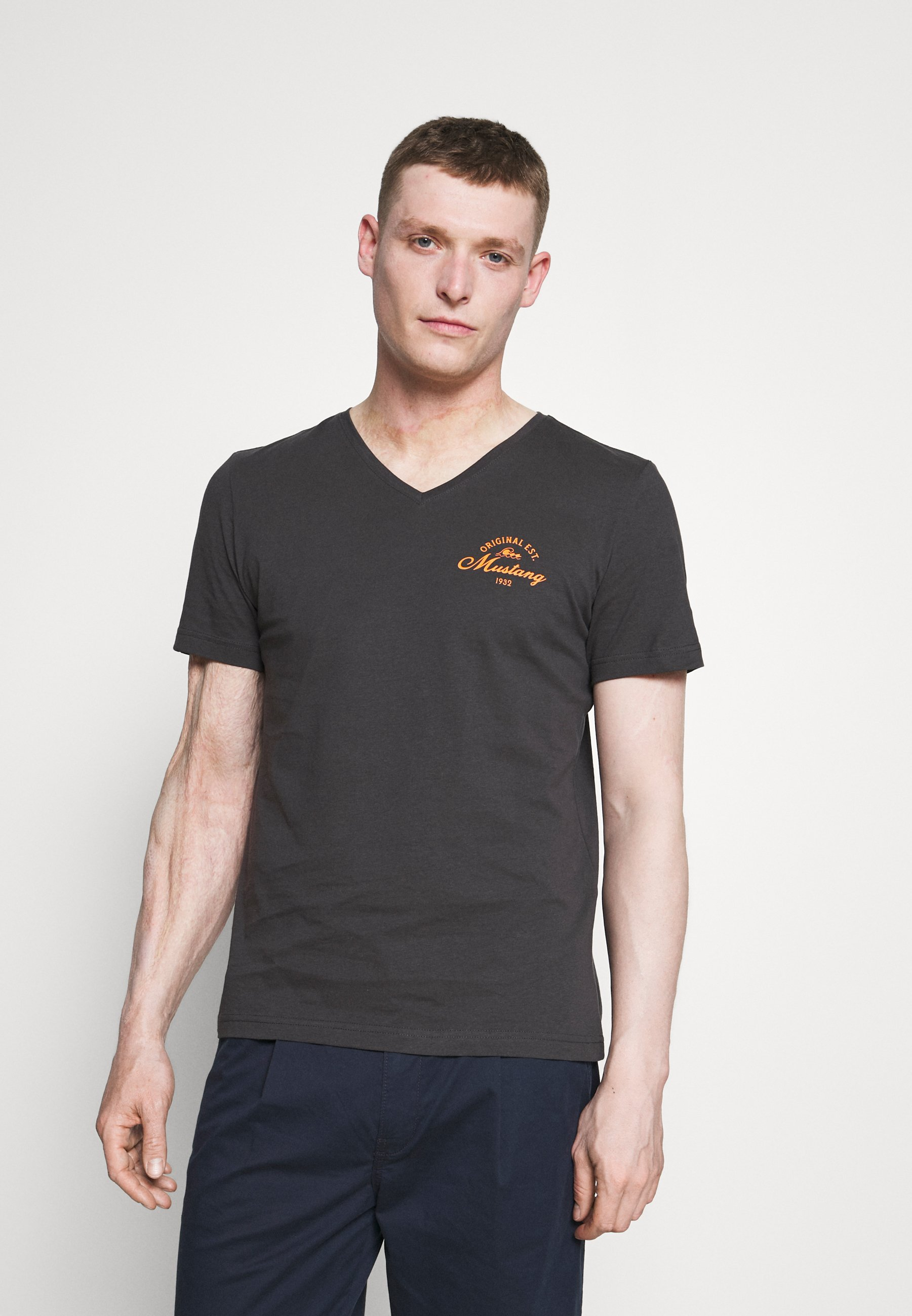 Men ALEX PRINT - Print T-shirt