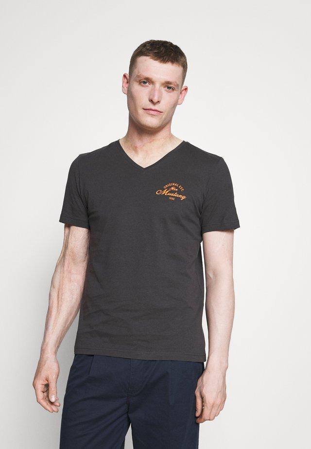 ALEX PRINT - Print T-shirt - phantom