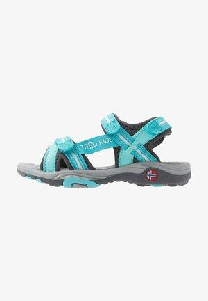 PREIKESTOLEN - Chodecké sandály - mint/grey