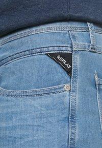 Replay - ANBASS XLITE - Jeans slim fit - light blue - 4