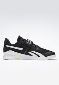 Reebok - LIFTER PR II - Sports shoes - black/white/chartr - 6