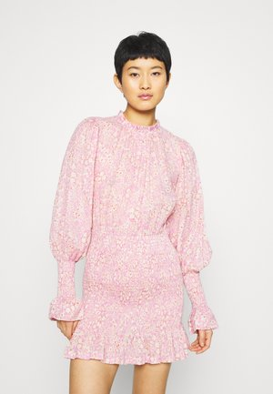 EMMANUELLE MINI DRESS - Sukienka letnia - pink