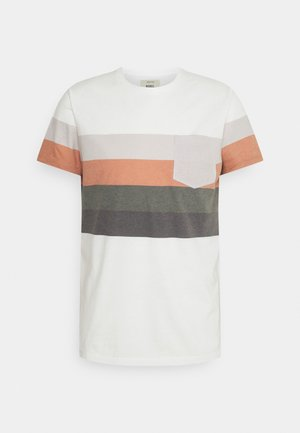 RRNOEL TEE - Print T-shirt - inca gold