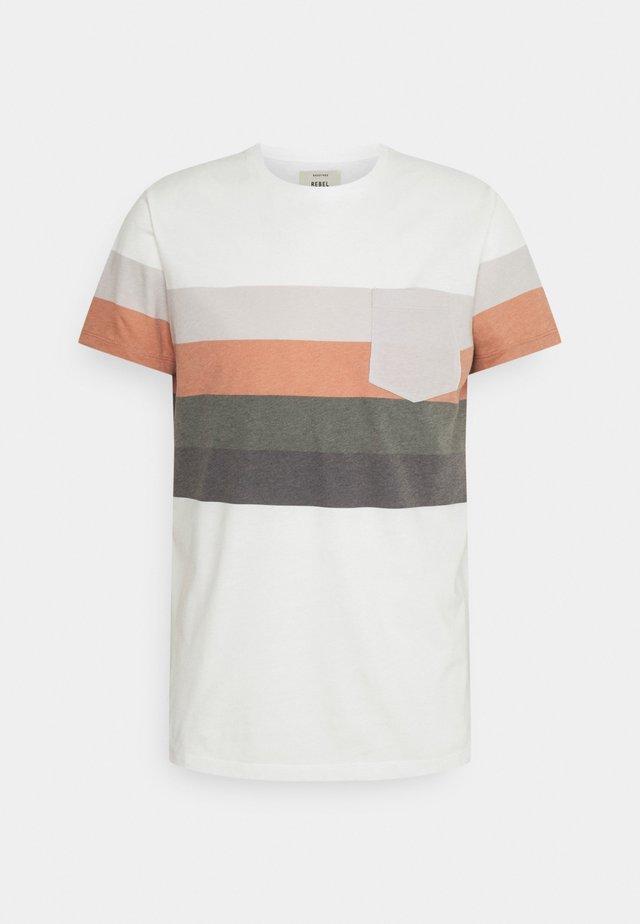 RRNOEL TEE - T-shirt print - inca gold