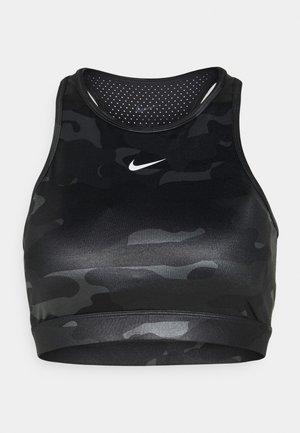 CAMO BRA - Reggiseno sportivo con sostegno medio - iron grey/black/white