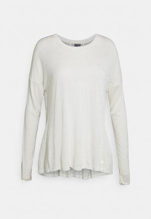 EASY PEAZY - Topper langermet - white