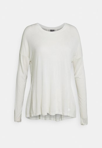 EASY PEAZY - Long sleeved top - white