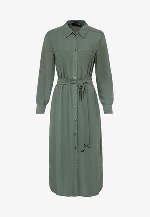 Shirt dress - seegrün