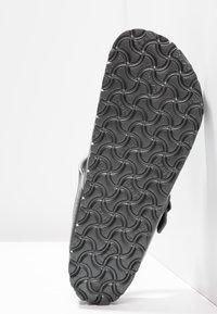 Birkenstock - GIZEH - Pool shoes - metallic anthracite - 4