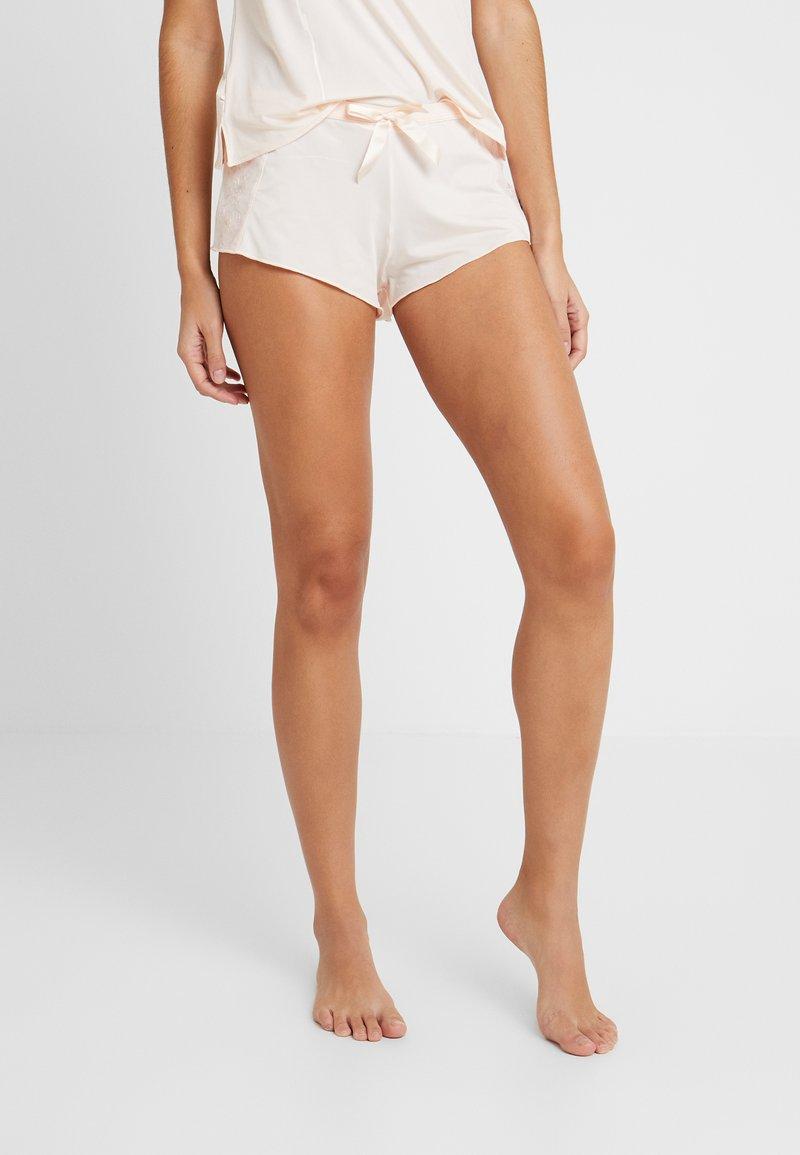 AMOSTYLE - COLLABORATION POLY - Spodnie od piżamy - pink light combination