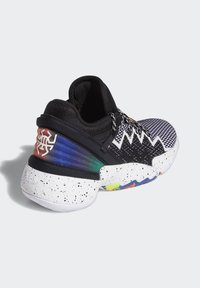 adidas Performance - D.O.N. ISSUE 2 UNISEX - Basketball shoes - core black/footwear white/solar red - 6