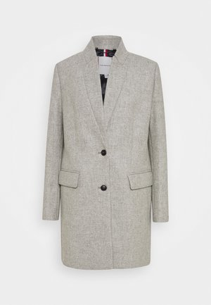 COAT - Classic coat - mid grey heather