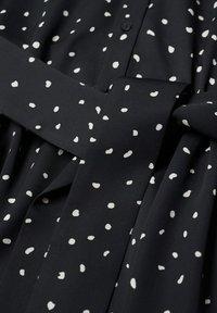 Mango - Shirt dress - zwart - 5