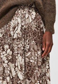 Selected Femme - A-line skirt - sandshell - 4