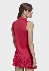 adidas Performance - TENNIS MATCH TANK TOP HEAT RDY - Polo shirt - pink - 2