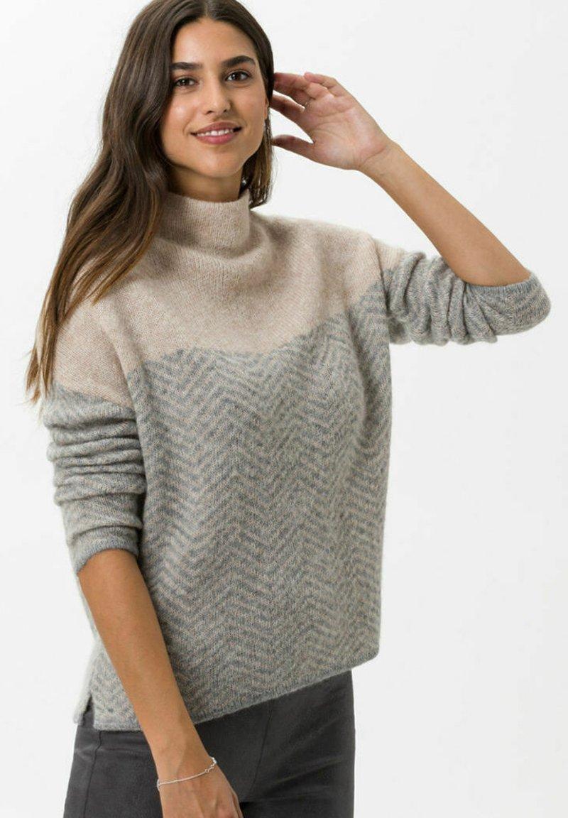 BRAX - STYLE LEE - Jumper - soft grey