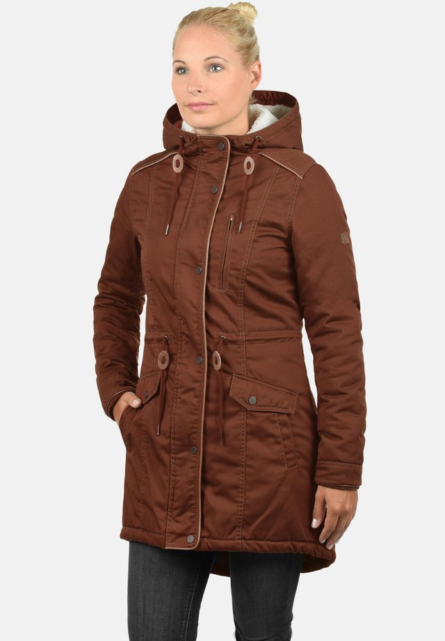 ANNA - Winter coat - fox brown