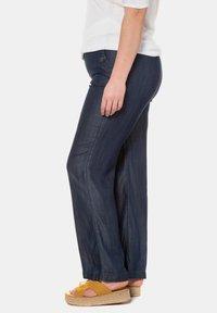 Ulla Popken - HOSE  - Trousers - blue denim - 2