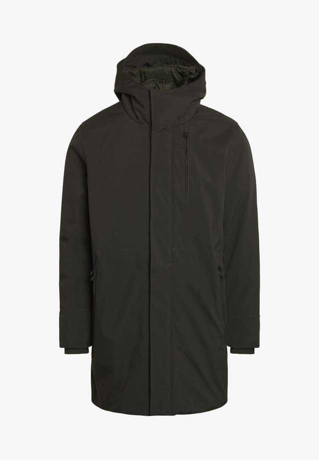 LONG SOFT SHELL JACKET  - Winter coat - phantom
