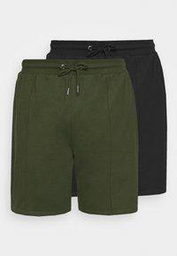 SMART 2 PACK - Shorts - black/khaki