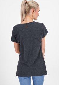 alife & kickin - MAXINEAK - Print T-shirt - marine - 2