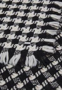 Opus - ABECKA SCARF - Scarf - black/white - 2
