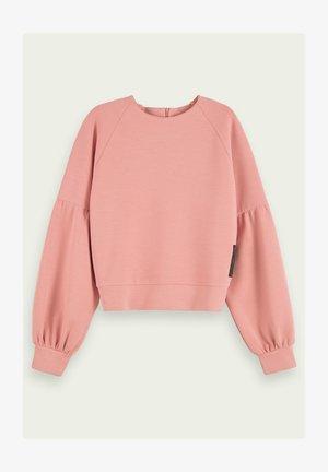 SOFT VOLUME SLEEVE - Sweatshirt - party pink