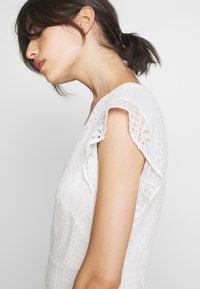 Lauren Ralph Lauren - MULTISTITCH DRESS - Day dress - matte ivory - 3