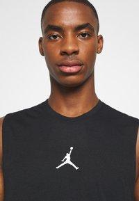 Jordan - AIR TOP - T-shirt de sport - black/white - 3