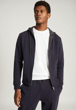HAROLD - Zip-up sweatshirt - navy blue
