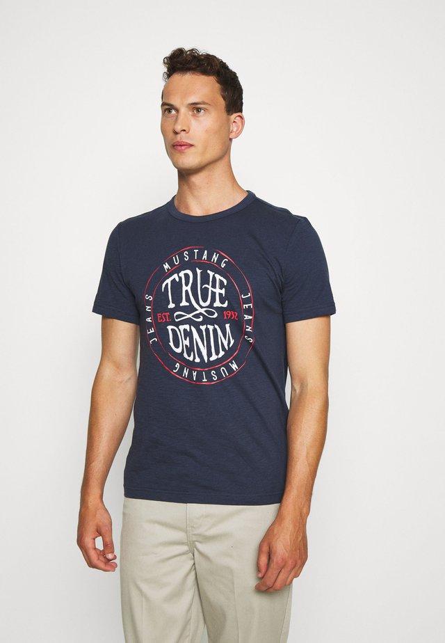 ALEX - Print T-shirt - blue nights