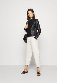Oakwood - HARMONY - Leather jacket - black - 1
