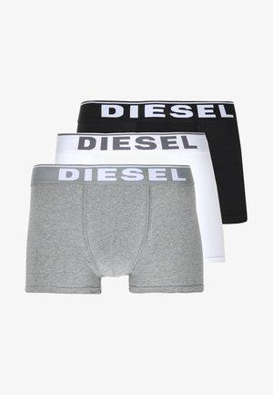 UMBX-DAMIENTHREEPACK BOXER 3PACK - MPACK:3 - Pants - schwarz/weiss/grau