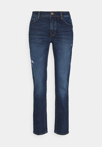 SDJOY - Jeans straight leg - dark blue denim