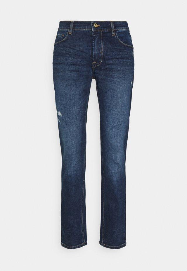 SDJOY - Jeans a sigaretta - dark blue denim