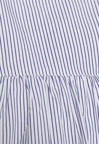 Wood Wood - NOVA POPLIN DRESS - Vestito lungo - blue - 9
