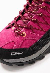 CMP - RIGEL MID TREKKING SHOE WP - Hiking shoes - bouganville/goji - 5