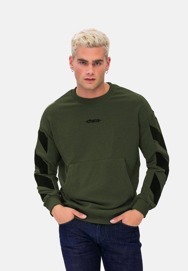KAPUZENSWEATSHIRT MAN SWEATSHIRT - Felpa - green