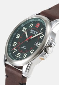 Swiss Military Hanowa - SWISS GRENADIER - Watch - brown - 5