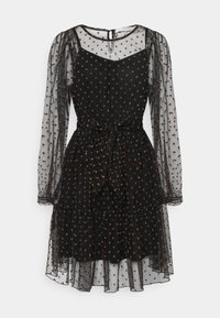 Love Copenhagen - LCASTRID DRESS - Cocktail dress / Party dress - black/brown - 0