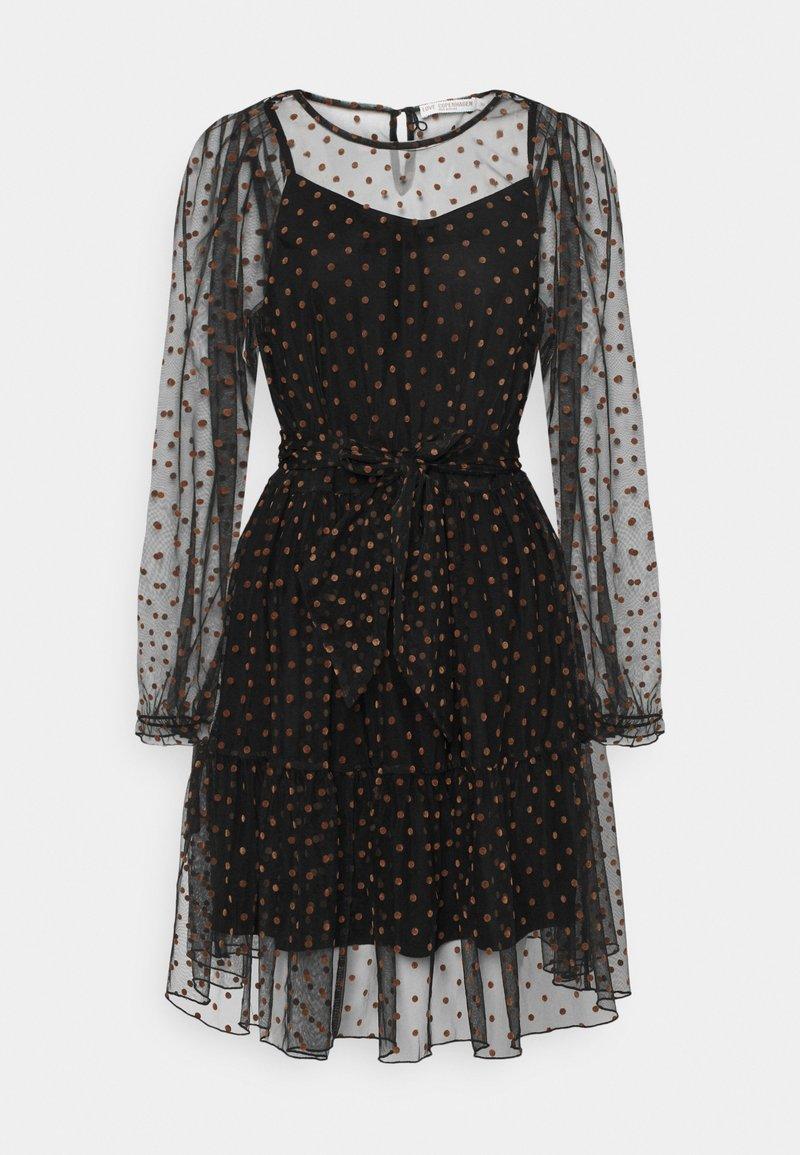 Love Copenhagen - LCASTRID DRESS - Cocktail dress / Party dress - black/brown