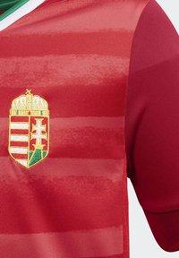 adidas Performance - HUNGARY HFF HOME AEROREADY JERSEY - Club wear - red - 4