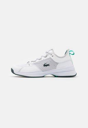 AG LT 21 - Tenisové boty na všechny povrchy - white/green