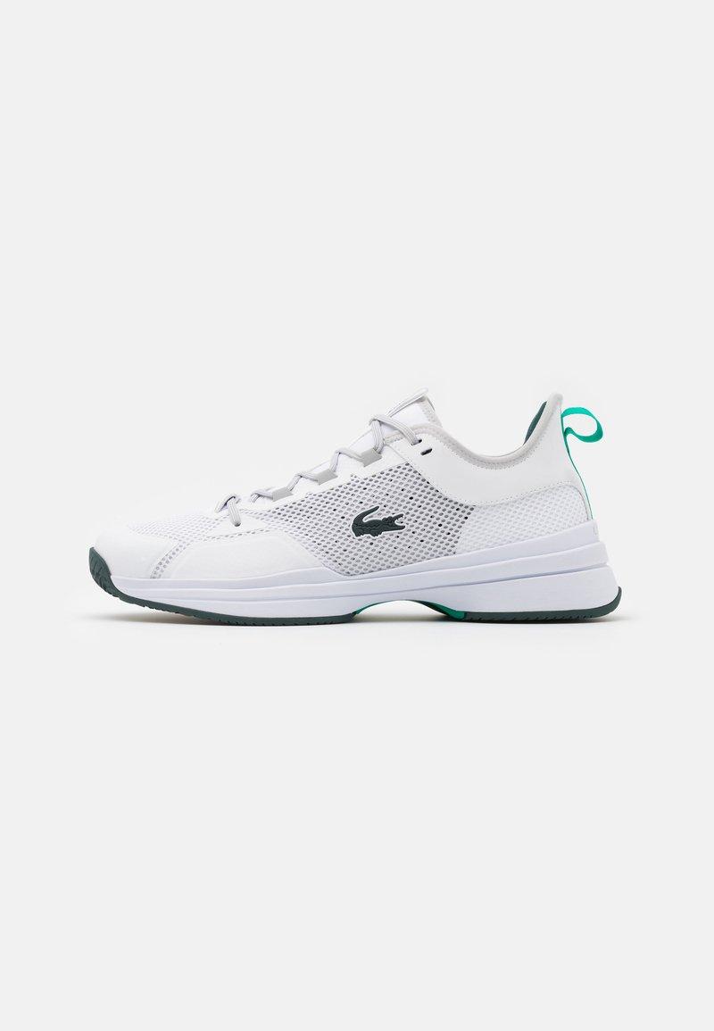Lacoste Sport - AG LT 21 - Kengät kaikille alustoille - white/green