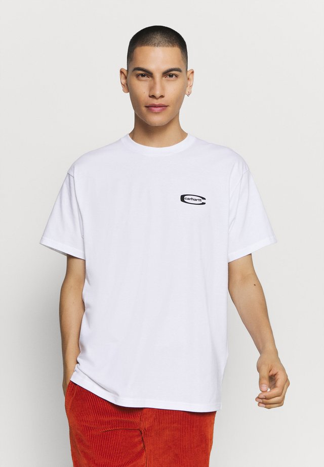 MIRROR  - T-shirt imprimé - white